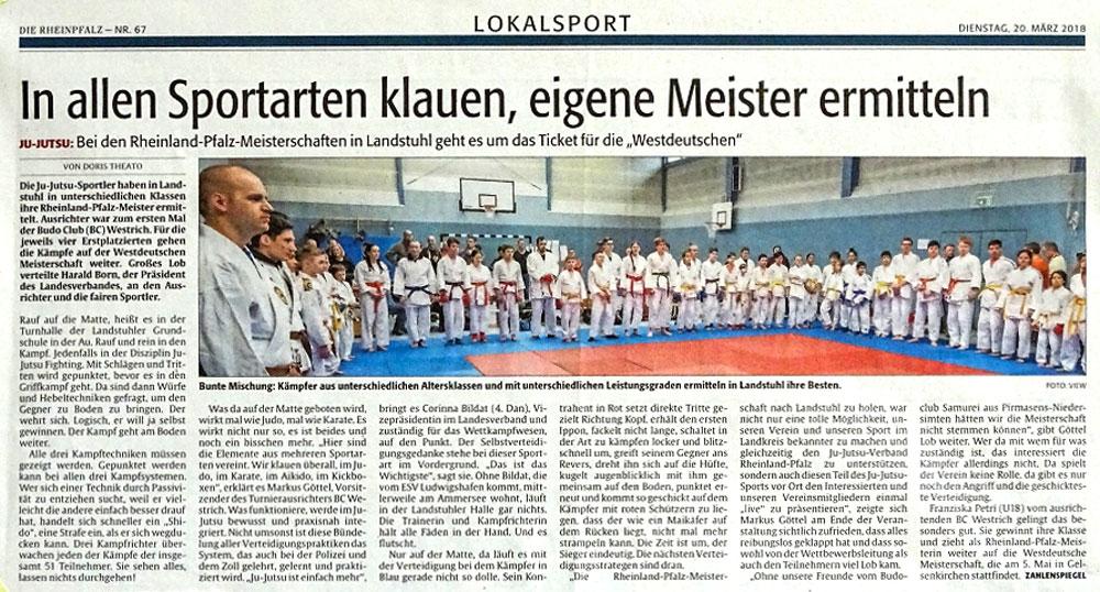 ZeitungsartikelRheinPfalz